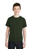 Youth Ultra Blend 50/50 Cotton / Poly T-shirt Forest Thumbnail