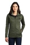 Women's The North Face Skyline Full-Zip Fleece Jacket Four Leaf Clover Heather Thumbnail