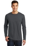 Long Sleeve Perfect Weight District Tee Charcoal Thumbnail