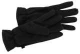 Fleece Gloves Black Thumbnail