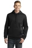 Sport-tek Repel Hooded Pullover Black Thumbnail