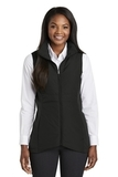 Women's Collective Insulated Vest Deep Black Thumbnail