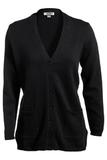 Women's Cardigan Sweater Black Thumbnail