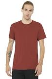 BELLACANVAS Unisex Jersey Short Sleeve Tee Rust Thumbnail