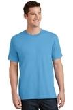 5.5-oz 100 Cotton T-shirt Aquatic Blue Thumbnail
