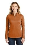 Women's The North Face Tech 1/4-Zip Fleece Orange Ochre Thumbnail