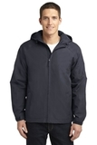 Hooded Charger Jacket Battleship Grey Thumbnail