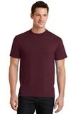 50/50 Cotton / Poly T-shirt Athletic Maroon Thumbnail