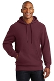 Super Heavyweight Pullover Hooded Sweatshirt Maroon Thumbnail