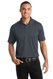 Diamond Jacquard Polo Graphite Thumbnail