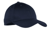 Youth 6-panel Twill Cap Navy Thumbnail