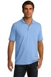 Port Company Tall 5.5-ounce Jersey Knit Polo Light Blue Thumbnail