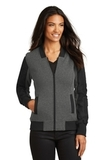 Women's OGIO Crossbar Jacket Blacktop Heather Thumbnail