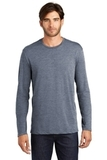 Long Sleeve Perfect Weight District Tee Heathered Navy Thumbnail