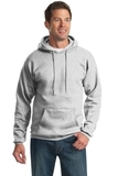 Tall Ultimate Pullover Hooded Sweatshirt Ash Thumbnail
