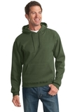 Pullover Hooded Sweatshirt Military Green Thumbnail