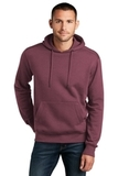 Perfect Weight Fleece Hoodie Heathered Loganberry Thumbnail