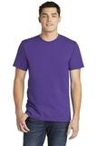American Apparel Fine Jersey T-Shirt Purple Thumbnail