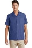 Textured Camp Shirt Royal Thumbnail