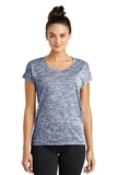 Women's Electric Heather Sporty Tee True Navy Electric Thumbnail