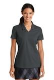 Women's Nike Golf Shirt Dri-FIT Micro Pique Polo Shirt Anthracite Thumbnail