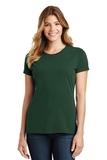 Women's Port & Company Fan Favorite Tee Forest Green Thumbnail