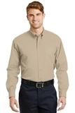 Long Sleeve Superpro Twill Shirt Stone Thumbnail