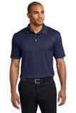 Performance Fine Jacquard Polo Shirt True Navy Thumbnail