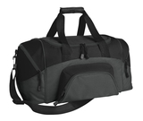 Improved Colorblock Small Sport Duffel Black with Dark Charcoal Thumbnail