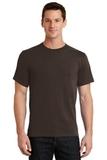 Essential T-shirt Dark Chocolate Brown Thumbnail