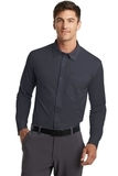 Port Authority Dimension Knit Dress Shirt Battleship Grey Thumbnail