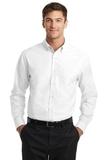 Tall SuperPro Oxford Shirt White Thumbnail
