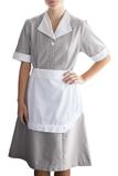 Junior Cord Housekeeping Dress Dark Grey Thumbnail