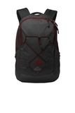 Groundwork Backpack TNF Dark Grey Heather with Cardinal Red Thumbnail