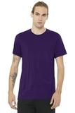 BELLACANVAS Unisex Jersey Short Sleeve Tee Team Purple Thumbnail