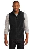 Port Authority R-tek Pro Fleece Full-zip Vest Black with Black Thumbnail