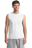 Ultra Cotton Sleeveless T-shirt White Thumbnail