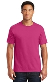 50/50 Cotton / Poly T-shirt Cyber Pink Thumbnail