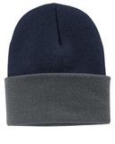 Knit Cap Navy with Athletic Oxford Thumbnail
