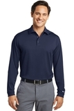 Nike Golf Shirt Long Sleeve Dri-FIT Stretch Tech Polo Midnight Navy Thumbnail
