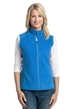 Women's Microfleece Vest Light Royal Thumbnail