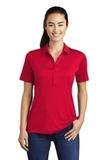 Women's Posi-UV Pro Polo True Red Thumbnail