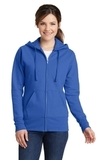 Women's Classic Full-Zip Hooded Sweatshirt Royal Thumbnail