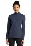 Ladies Exchange 1.5 Long Sleeve 1/2-Zip Dark Denim Heather Thumbnail