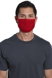 Cotton Knit Face Mask (5 Pack) New Red Thumbnail