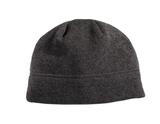 Heathered Knit Beanie Black Heather with Charcoal Thumbnail