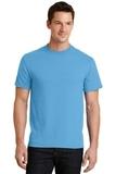 50/50 Cotton / Poly T-shirt Aquatic Blue Thumbnail