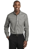 Red House Pinpoint Oxford Non-Iron Shirt Charcoal Thumbnail