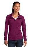 Women's Sport-wick Stretch Full-zip Jacket Pink Rush Thumbnail
