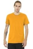 BELLACANVAS Unisex Jersey Short Sleeve Tee Gold Thumbnail